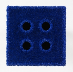 Donald Moffett, Lot 051912 (the cobalt quad), 2012