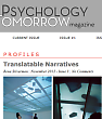 Psychology Tomorrow