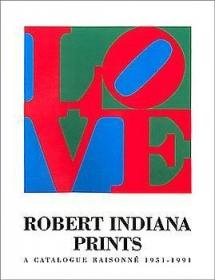 Robert Indiana Prints (softcover)