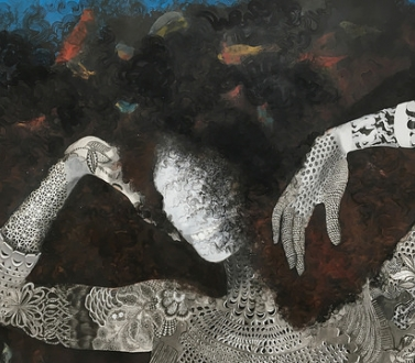 Firelei Báez at the Tarble Arts Center at Eastern Illinois University
