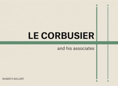 """""""LE CORBUSIER AND HIS ASSOCIATES"""" EXHIBITION AT MAGEN H GALLERY"""