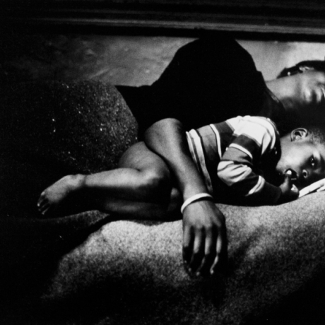 """Gordon Parks's Harlem Family Revisited"""