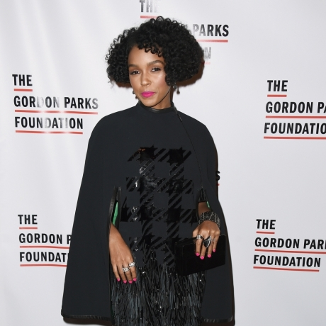 """Janelle Monae Wears A Cape To The Gordon Parks Gala Like The Superwoman She Is"""