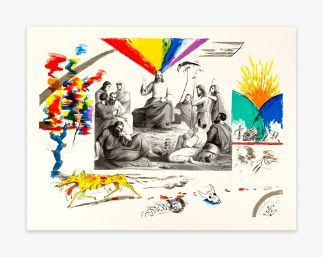 "H.C. Westermann Six Lithographs – ""J"" Print, 1972"