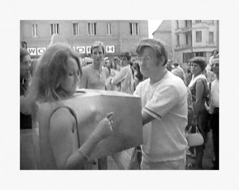 Valie Export Touch Cinema, 1968