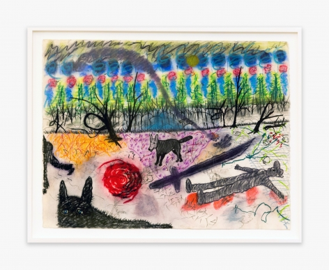 Roy De Forest Untitled, 1977