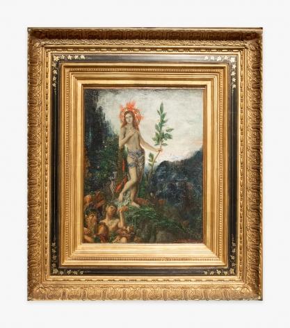 Gustave Moreau Apollon recevant les offrandes des bergers