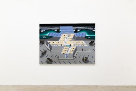 Installation view of Roger Brown, Venus Over Manhattan, New York