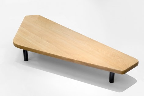 Charlotte Perriand Table basse à cinq pans