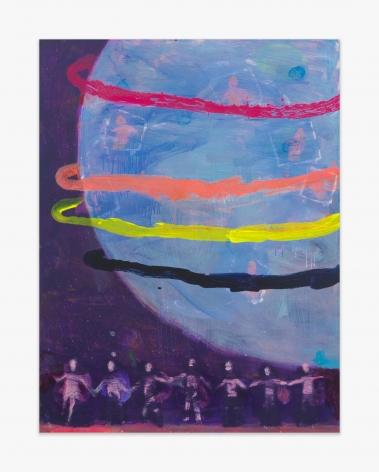 Katherine Bradford Four Ring Planet, 2016