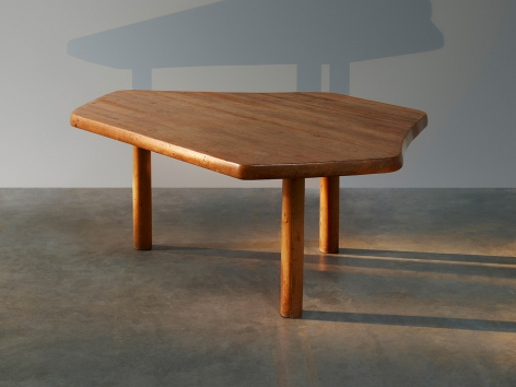 Charlotte Perriand Table à six pans