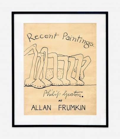 Philip Guston Recent Paintings at Allan Frumkin, 1978