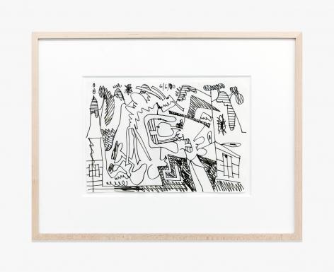 Carroll Dunham Untitled (6/6/00), 2000