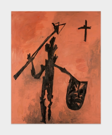 Walter Dahn Untitled (Don Quixote), 1985