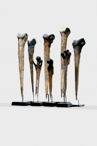 Papuan Bone Daggers