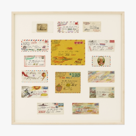 H.C. Westermann 15 Decorated Envelopes (From H.C. Westermann to Allan Frumkin)