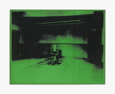 Andy Warhol Little Electric Chair, 1964