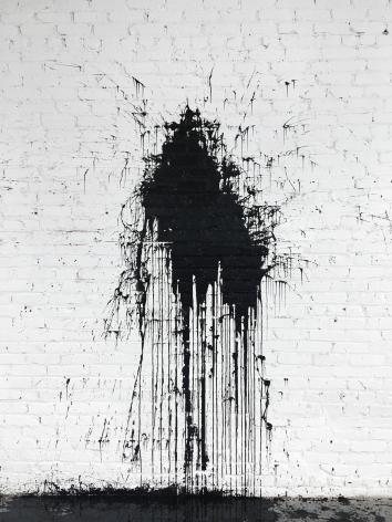 William Anastasi One gallon high-gloss enamel thrown, 1966