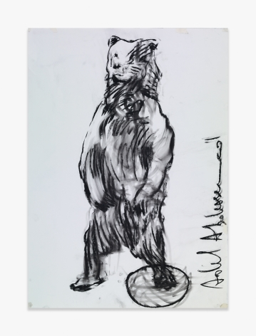 Adel Abdessemed La Tendresse du Tigre, 2015