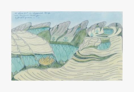 Joseph Elmer Yoakum Mt Look Out in Toppenish Range near Vancouver Washington, 1968
