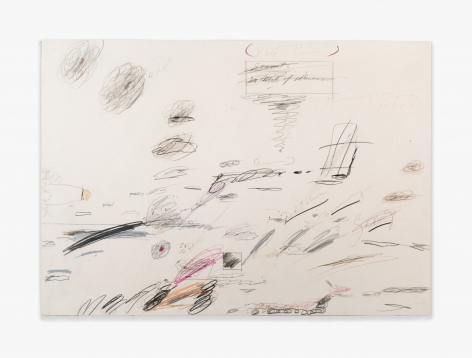 Cy Twombly Untitled, 1959-1963