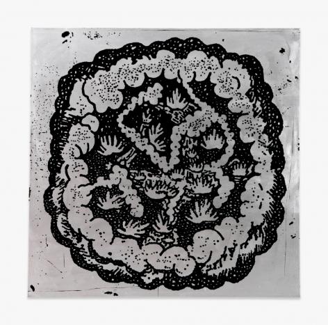 "Walter Dahn Untitled (""The elegant chaos"")"