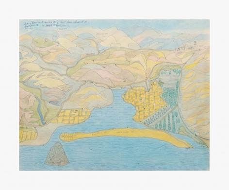 Joseph Elmer Yoakum Moro Rock and Moro Bay Near San-Luis Obispo California by Joseph E. Yoakum, c. 1965