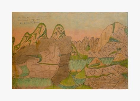 Joseph Elmer Yoakum Mt. Cross Pate in Long Range, Mt. Range near Damals Harber New Foundland, n.d.