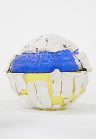 Takuro Kuwata Blue Yellow-Slipped Kairagi Shino Globe