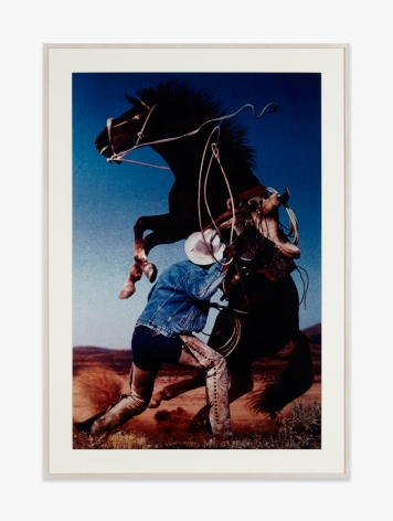Richard Prince Untitled (Cowboy) (Rearing Horse)