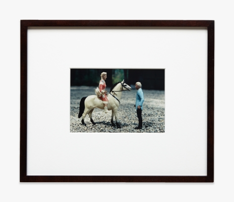 Laurie Simmons Horizontal Man/Woman/Horse