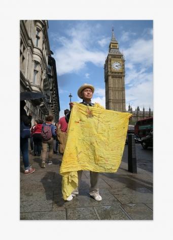 David Medalla Big Ben Parliament Square London, 2016