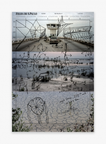 Michel Houellebecq Inscriptions #006, 2016