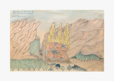 Joseph Elmer Yoakum Mt Colio of Vericruz sec: near Town Ciowawa Mexico, n.d.