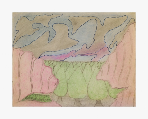 Joseph Elmer Yoakum Untitled, n.d.