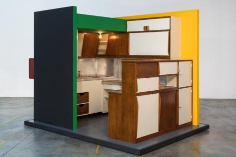 Charlotte Perriand + Le Corbusier Cusine-bar Marseille