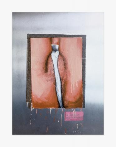 Marilyn Minter White Cotton Panties, 1992