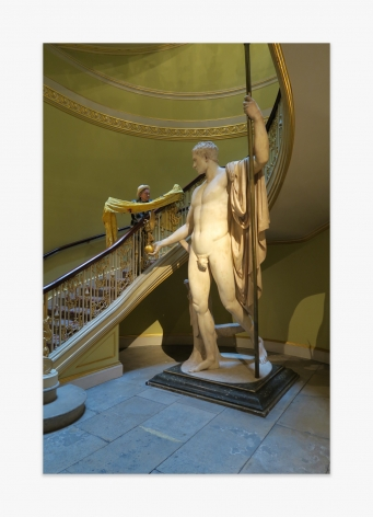 David Medalla Apsley House London, 2016