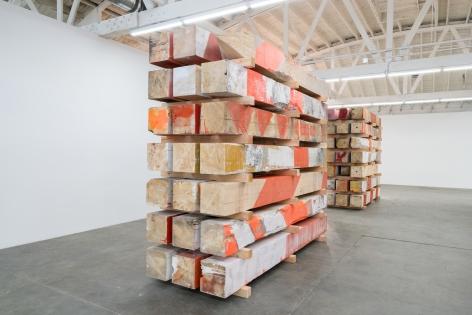 Marianne Vitale Beam Work (Stack 3), 2016