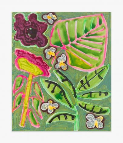 Katherine Bernhardt Patio Plants, 2016