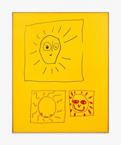 Walter Dahn 3 Sonnen
