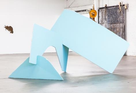 Matt Johnson Drywall #5 (Baby Aqua M440-3), 2017