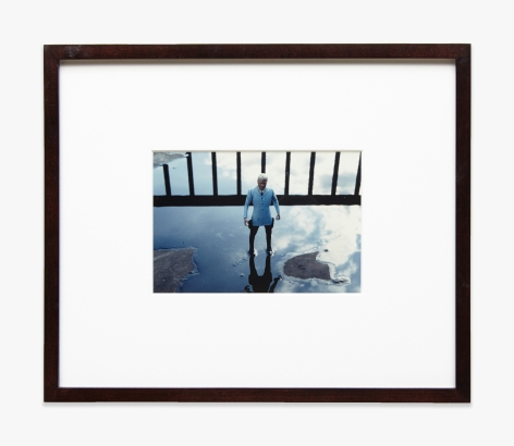 Laurie Simmons Man/Sky/Puddle/First View