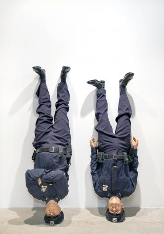Maurizio Cattelan Frank and Jamie