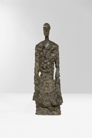 Alberto Giacometti Homme à mi-corps (Diego assis), 1965