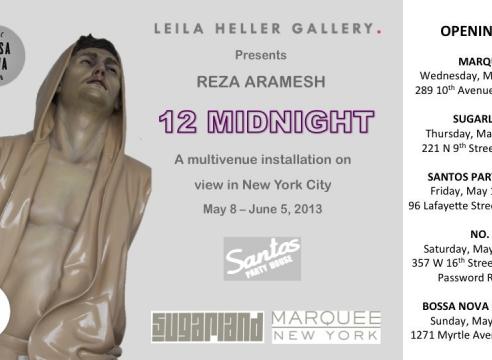 Reza Aramesh: 12 Midnight
