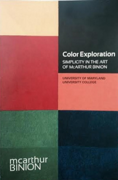 Color Exploration: Simplicity in the Art of McArthur Binion