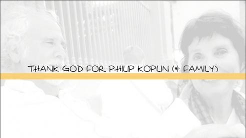Thank God for Philip Koplin