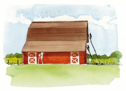 Bob Miller's North Fork Watercolors