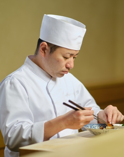 Head Chef Kenji Miyaishi
